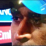 You can never question this mans commitment. Valiantly he fought. Alone. #ThankYouDhoni http://t.co/wEun8o9JCy #ShameOnTimesNow