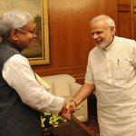 Bihar CM Shri @NitishKumarJDU called on PM @narendramodi. http://t.co/3Eq52BwQDN