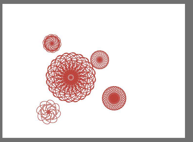 とりあえずこのファイヤーアルパカの回転対称ブラシがやばい、フリーハンドでこんなん描ける。何に使うか分からんけどやばい。 http://t.co/dYxZTO3mxA