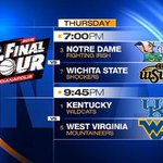 ICYMI: All eyes on the Midwest Region tonight, though not necessarily on underdog #NotreDame. http://t.co/YCyv0jIAI9 http://t.co/z0yyY4MNrj