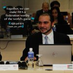 Together, we can make #FIFA a federation worthy of the worlds game @AliBinAlHussein #AliForFifa #الأمير_علي_للفيفا http://t.co/8xK4ZSXBpN