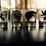 Here's what came out of the box  Thank you for my geeky shot glasses@HBODEFINED #GOT5INDIA