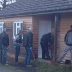 Drugs warrant executed in The Callow #Hereford as part of #OpProtect this morning http://t.co/MgBq5xCUCc