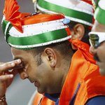 Billion hearts broken as #IND lose semis despite a valiant fight in #WorldCup2015. #IndvsAus: http://t.co/ELXM8YwrRp http://t.co/Iq9DjIHeaC