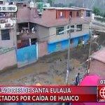 [VIDEO] Mira a través de un drone cómo afectaron los huaicos al distrito de Santa Eulalia http://t.co/Pbz9mqFR7H http://t.co/BnmX2hyvgK