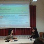 Aujourdhui cest le seconde rendez-vous du seminaire avec @BDonzelle: nous parlons des blog http://t.co/TMLNN5Z8OV
