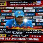 Rubbish hashtag by @TimesNow. No shame in losing to a superior team. http://t.co/fwkwCL3YZF