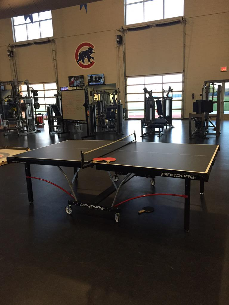 RT @JArrieta34: Time to break in the new table. Wake up @Cubs http://t.co/xxwGk5TEMm