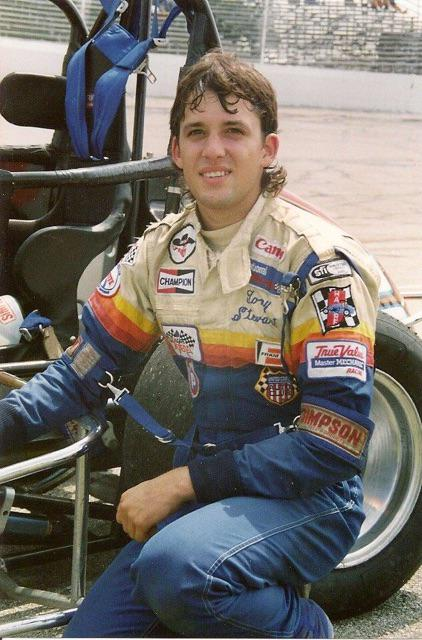 Hey @StenhouseJr here's a @TonyStewart #TBT from 1991 you got his hairstyle .. What u think @DanicaPatrick http://t.co/H03YumtBp4