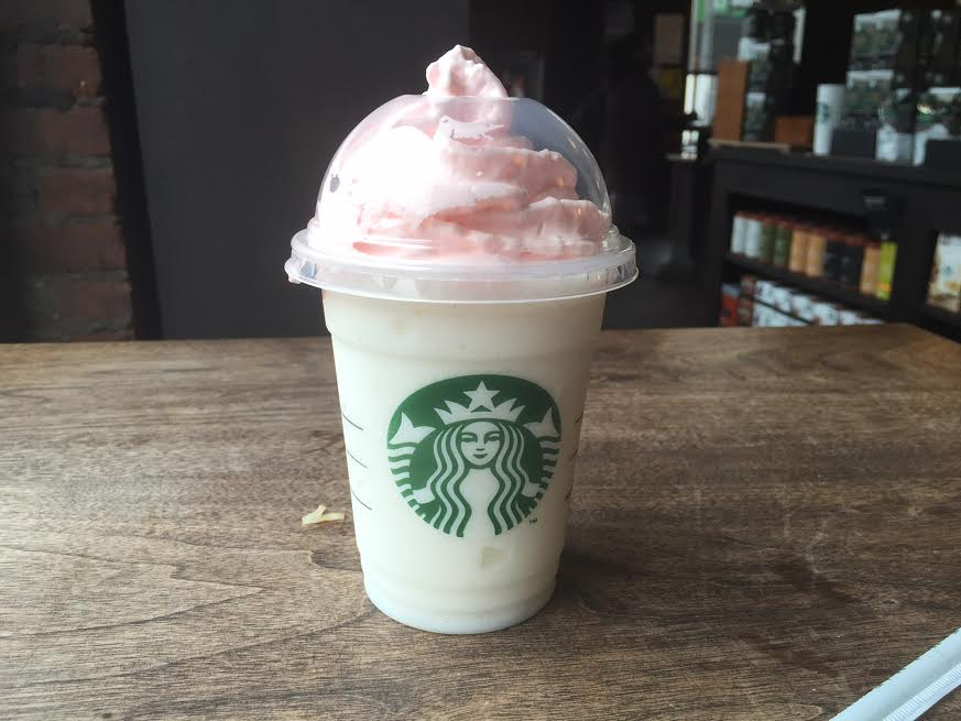 My Review Of The New Starbucks Birthday Cake Frappuccino I Admit I
