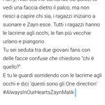 """@Zaynslaughsm: Posso piangere?  #AlwaysInOurHeartsZaynMalik #ZaynWillAlwaysBeAPartOf1D http://t.co/kaFPt2ucXh"" voglio piangere oddio"
