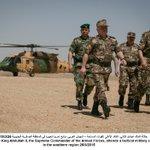 صورة: جلالة القائد الأعلى للقوات المسلحة – الجيش العربي، يتابع تمرينا تعبويا في المنطقة العسكرية الجنوبية #الأردن #JO http://t.co/RxlFFtIWtz