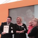 Freya & Ross awarded Carer of The Year #BathPrideAwards @BathChron @RogSymonds http://t.co/Aa14YQ5iPB
