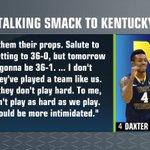 "West Virginia freshman Daxter Miles Jr. has a message for Kentucky: ""…theyre gonna be 36-1."" http://t.co/2E2beyGBBu"