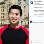 Meet Michael Dinh – a junior Biology & Psychology double major from Richmond, VA.  #WhyND http://t.co/zr0NpDUdmd http://t.co/XyJWnFJAvM