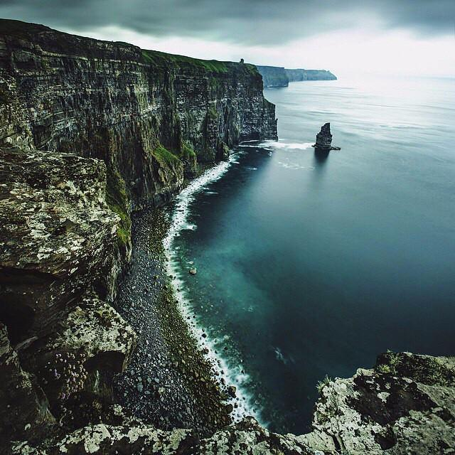 Where's the most magical place you've ever visited? The Cliffs of Moher, Ireland ranks pre…