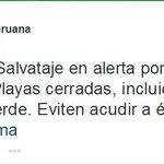 #ÚltimaNoticia: A través de Twitter, la #PolicíaNacional advierte olaje anómalo. Tome precauciones http://t.co/Ufkx0uDFc6