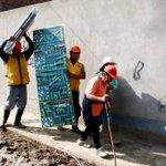 Las zonas más alejadas de Santa Eulalia recibieron ayuda humanitaria de la MML. http://t.co/auCimm6SVs