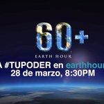 Este sábado 28 de marzo es la Hora del Planeta, ¿participarás? ► http://t.co/rE1ptUDAE2 http://t.co/PpjO8TQrVi