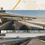 Google images of I-35 overpass @ FM 2484 in Salado, Tx compared to @Mikel_KWTX tweeted photo of its collapse. http://t.co/IXlSE3eKgE