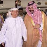 Apparent photo of Hadi upon his arrival to #Saudi Arabia. He certainly looks happy. #ResoluteStorm #yemen http://t.co/ULjZYa6RL4