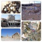 الحوثيون أفسدوا، قتلوا الناس دمروا المساجد خرّبوا دور القرآن أهانوا المصاحف سرقوا، نهبوا  فكان لا بد من #عاصفة_الحزم http://t.co/J97RmXU51F
