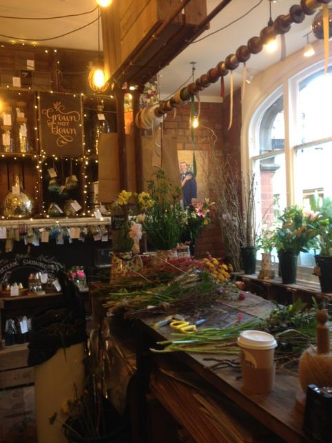 Just been to @BritishFlowers shop ...a little piece of retail magic in Hereford !! http://t.co/1ebGzZyuHc
