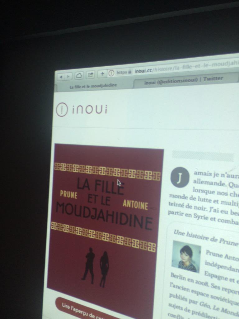 De passage au lancement parisien d'#Inouï c'est à dire @LeQuatreH du Québec en gros. Vive la #Francophonie http://t.co/QGA0k29c8N