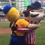 Thanks for the support! Looking to make Wisconsin proud! RT @Brewers: Lets go @UWBadgers! #MakeEmBelieve #Sweet16 http://t.co/Eo310OmVXt
