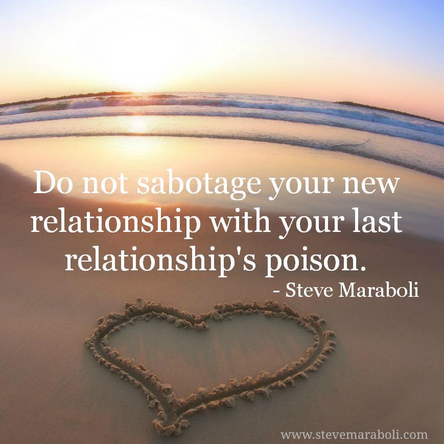 why do i sabotage my relationship