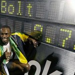 #tbt to when @usainbolt broke the 100m World Record at Icahn Stadium in New York in 2008