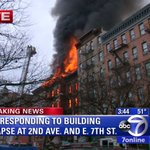 A major fire, explosion, and collapse is being reported in NYCs East Village http://t.co/rqPIS06CYt http://t.co/nh4EduOAez