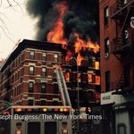 More than 100 firefighters have been dispatched to a fire in New Yorks East Village http://t.co/Kk65UDggqD http://t.co/MdnKUkh8P6