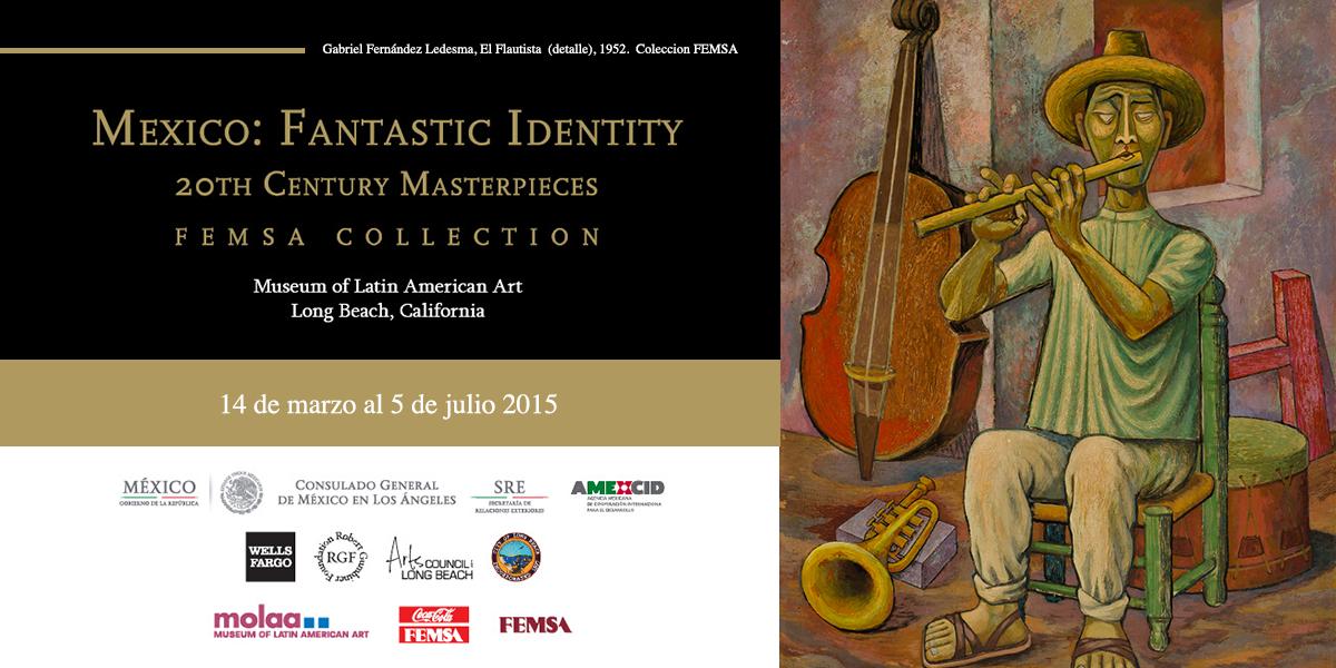 """""""Mexico Fantastic Identity"""" de la #ColecciónFEMSA incluye obras de Diego Rivera y Frida Kahlo. ¡Visítala en @MOLAA! http://t.co/vqnDqDnDuQ"""