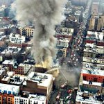 #BREAKING: Aerial view of building collapse @NYPD9Pct. Numerous rescue units on scene #SOD #ESU #K9 #Aviation #FD http://t.co/d9iX4GOBUd