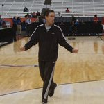 Coach Pitino during Louisville practice in Syracuse. #L1C4 http://t.co/b8Vbcz77xo
