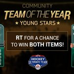 RT @EASPORTSNHL: RT for a chance to win these #HUT TOTY items!