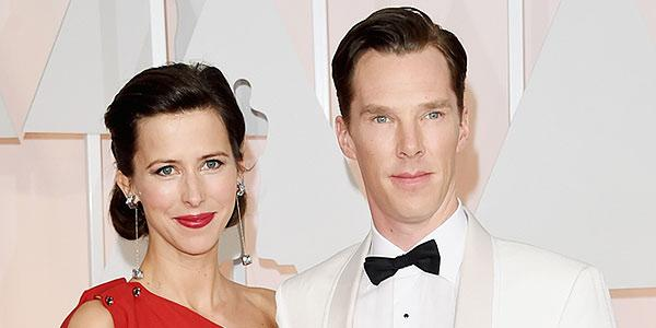 Benedict Cumberbatch's blushing bride! See Sophie Hunter's gorgeous wedding gown