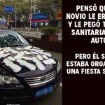 Se vengó pegando toallas sanitarias al auto de su novio infiel http://t.co/CdHrNI9Znk http://t.co/sJKPuVnVlY