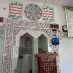 مساجد اليمن بعد الاحتلال الحوثي لها ، شعاراتهم المستوردة من إيران فى المحراب ، http://t.co/Z1ailJIPsJ