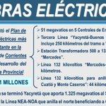 [EN VIVO] Obras eléctricas en la Provincia de #corrientes @minplan https://t.co/8CZZ4fqNai http://t.co/dP8eKYlccq