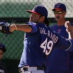 2015 Texas Rangers Opening Day Starter: Yovani Gallardo #NeverEverQuit http://t.co/qHwVEs0BpM