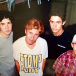 My first band! We were called Three Simple Words. Thanks for the throwback pic @curtispeoples !! http://t.co/y8TzuTsgbi