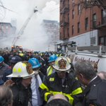 Mayor @BilldeBlasio visited the site of todays tragic #EastVillage building collapse. http://t.co/2tg265bz1C http://t.co/9RYFcq6LcP