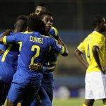 76m. #Ecuador 2-1 #Colombia en el #SudamericanoSub17. [VIDEOS DE GOLES] http://t.co/hbrM2u4W1F (Foto: EFE) http://t.co/peiTWmAwvd