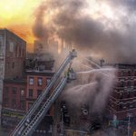 HDR pano of ongoing #FDNY operations in the #EastVillage. @nypmetro http://t.co/MyUgFYseJd