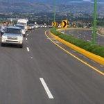 @danielahidalgom: Presidente @MashiRafael y Ministra @pcarvajal78 recorren #PasoLateralLatacunga previo a su entrega. http://t.co/HzuDRWMmPZ