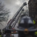 Tower ladders are among the more than 50 #FDNY units operating in the East Village http://t.co/6xNBHZD75R