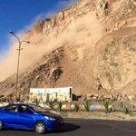 LO ÚLTIMO | Desprendimiento de rocas en el morro de Arica sorprende a transeúntes. EN VIDEO » http://t.co/Wx30yiHhn1 http://t.co/bCtbK9j7gN