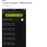 Xaviers (@XUAthletics) pregame playlist is fire http://t.co/CuCnBbjklh